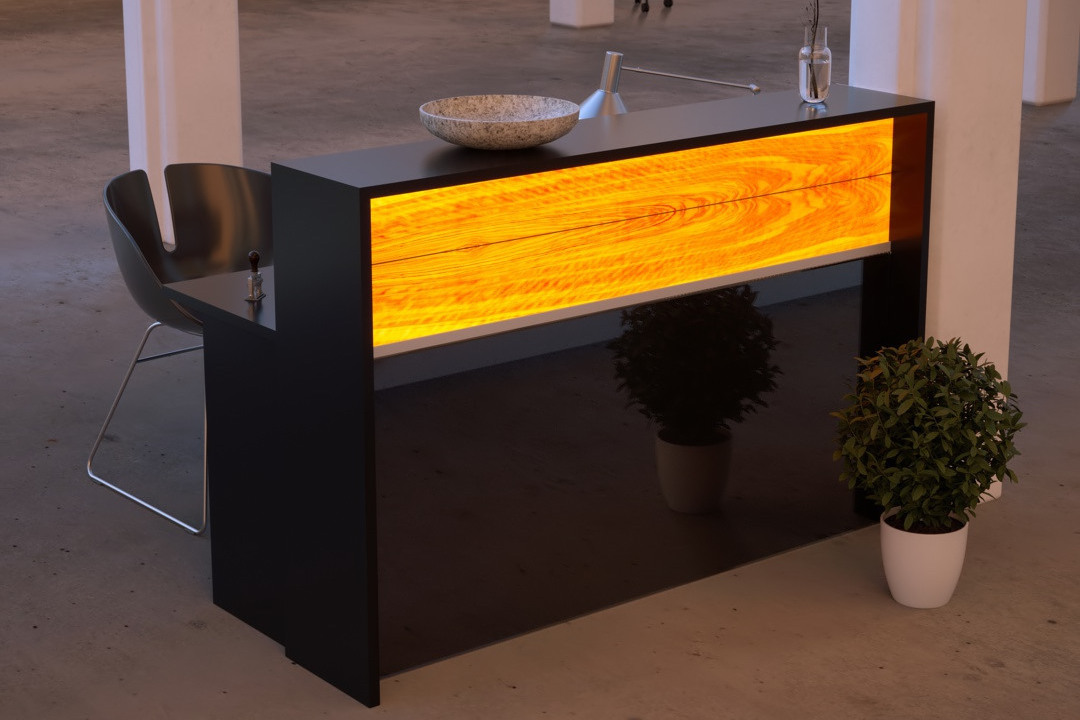 Projects: Reception desk | WOODEN Germany